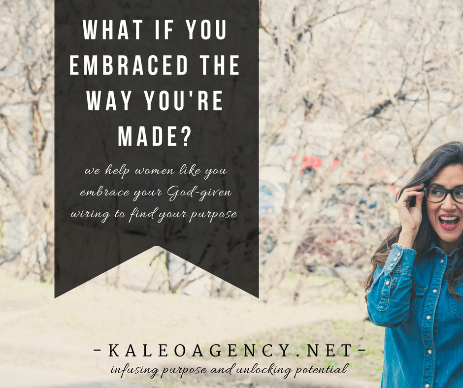 What if you embraced the way you're made?