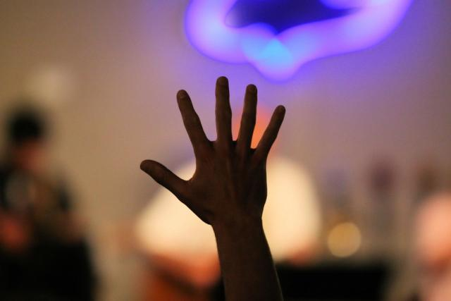 Image result for hands raised in worship