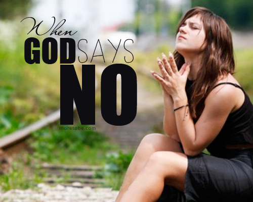 When god says no to a relationship