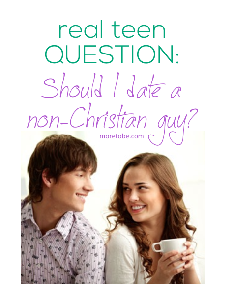 A christian dating a non christian
