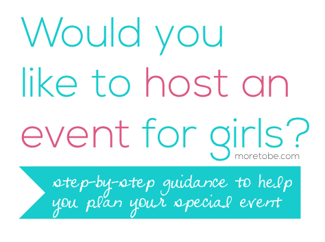 Would you like to host an event for girls?