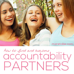 How to Find and Become Accountability Partners