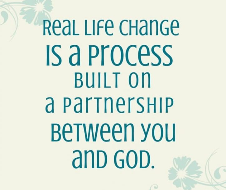 Change is a Process Built on a Partnership with God {Listen In}