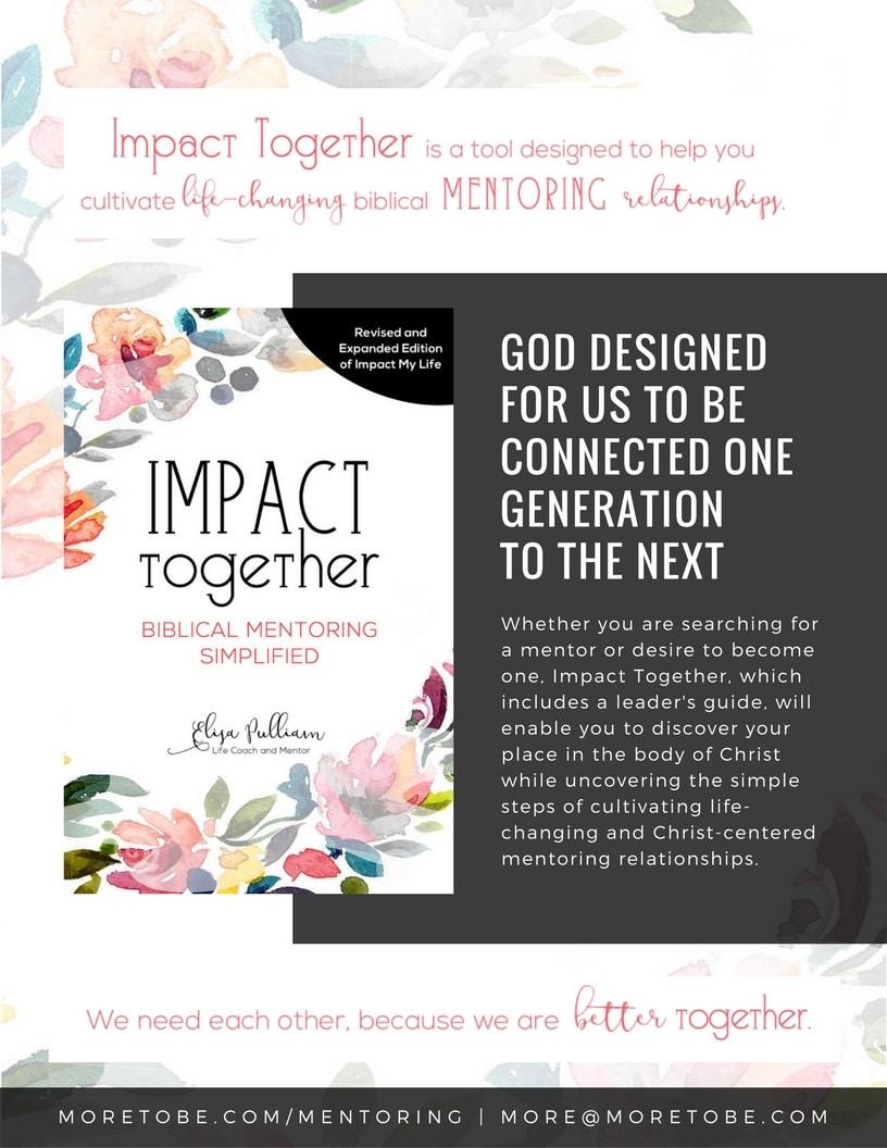We make Biblical mentoring simple!