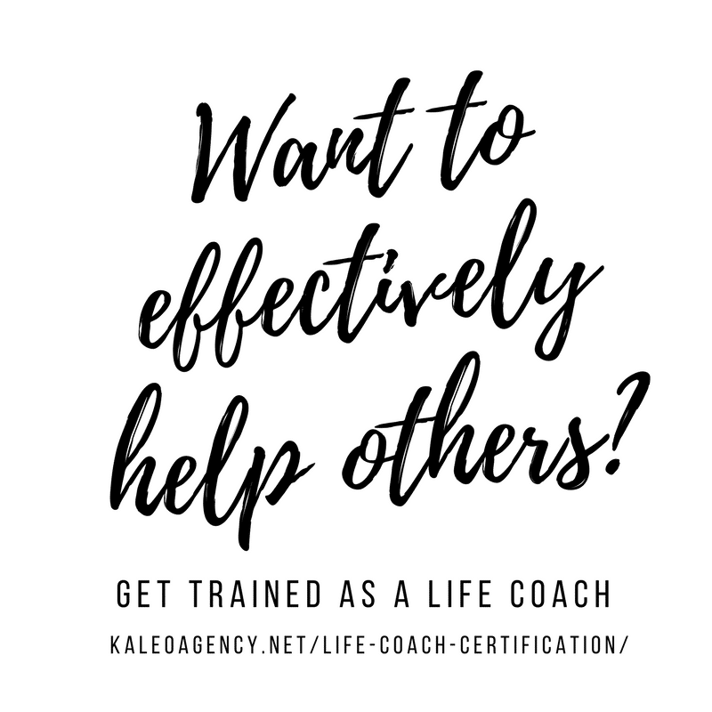 Want to effectively help others? Be trained as a life coach!