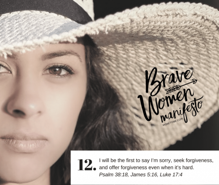 The Freedom of Forgiveness {Brave Women #12}
