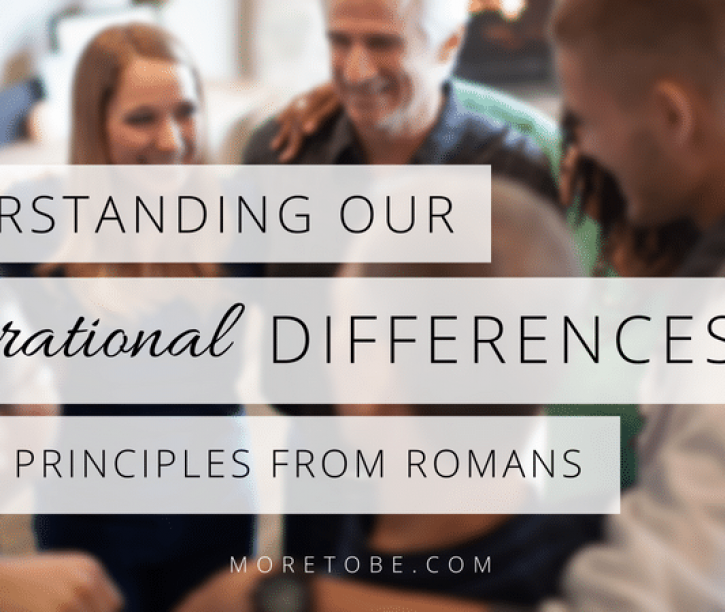 Understanding Generational Differences {Part 2}