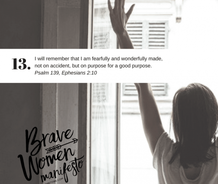 The Finished Story {Brave Women #13}