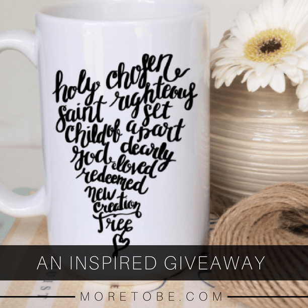 Enter the Inspired Giveaway