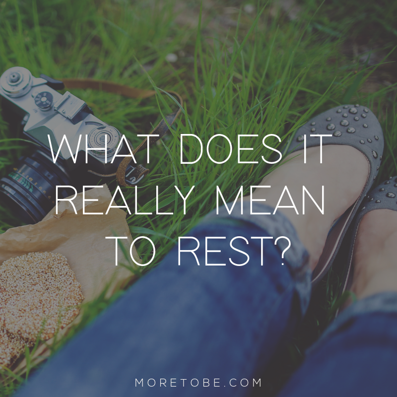 What does it really mean to rest?