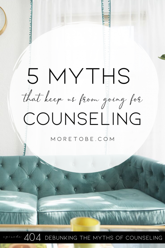 5 Myths That Keep Us from Going for Counseling