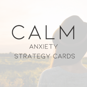 CALM Anxiety Scripture Cards