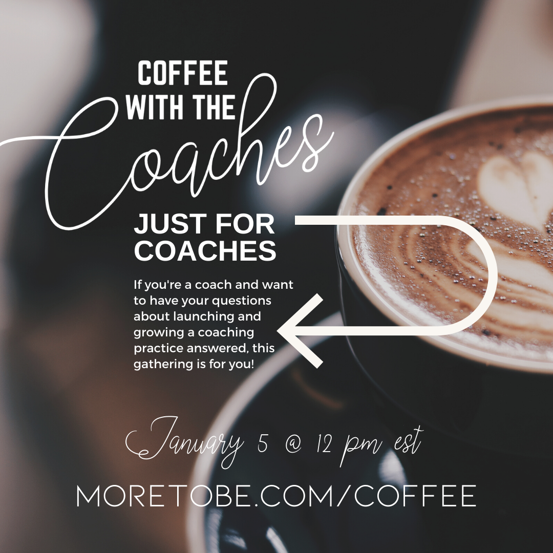Coffee with Coaches - for Coaches