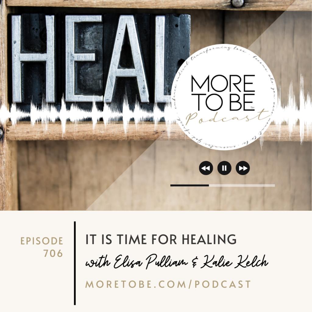 It is time for healing!