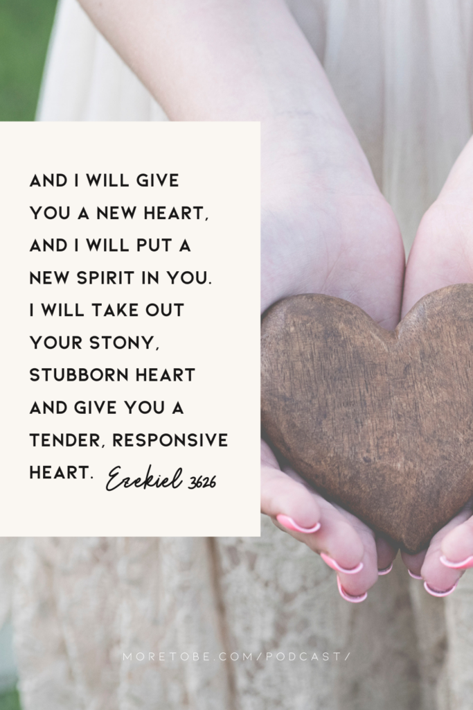 You can receive a new heart from God!