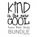 Kindness is the New Cool Bible Study Bundle